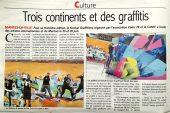 Graffitizm 2013 : Article dans le Courrier de Mantes