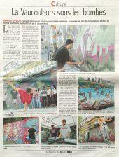 Graffitizm 2015 : Article dans le Courrier de Mantes